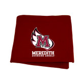 Maroon Sweatshirt Blanket-Primary Mark