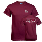 Maroon T Shirt-USA South Conference Lacrosse Champions