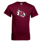 Maroon T Shirt-M Wing Icon