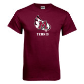 Maroon T Shirt-Tennis