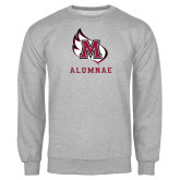Grey Fleece Crew-Alumnae