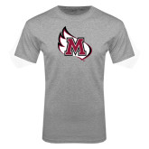 Grey T Shirt-M Wing Icon