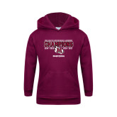Youth Maroon Fleece Hoodie-USA South Conference Lacrosse Champions
