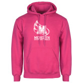 Fuchsia Fleece Hood-Primary Mark