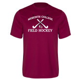 Performance Maroon Tee-Field Hockey