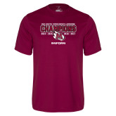 Performance Maroon Tee-USA South Conference Lacrosse Champions