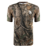 Realtree Camo T Shirt-Primary Mark Tone