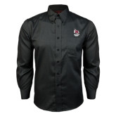 Red House Black Long Sleeve Shirt-Primary Mark Stacked