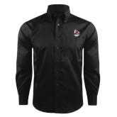 Red House Black Herringbone Long Sleeve Shirt-Primary Mark Stacked