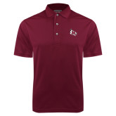 Maroon Dry Mesh Polo-M Wing Icon