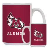 Full Color White Mug 15oz-Alumna