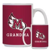 Full Color White Mug 15oz-Grandma