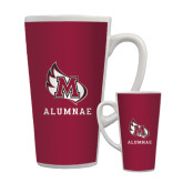 Full Color Latte Mug 17oz-Alumnae