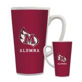 Full Color Latte Mug 17oz-Alumna