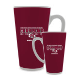 Full Color Latte Mug 17oz-USA South Conference Lacrosse Champions