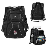 High Sierra Swerve Black Compu Backpack-Primary Mark Stacked