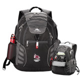 High Sierra Big Wig Black Compu Backpack-Primary Mark Stacked