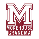 Small Decal-Morehouse Grandma, 6 inches wide