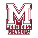 Small Decal-Morehouse Grandpa, 6 inches wide