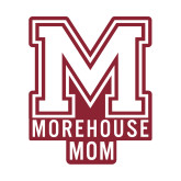 Mom Decal-Morehouse Mom, 6 inches wide