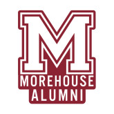 Alumni Decal-Morehouse Alumni, 6 inches wide