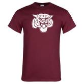 Maroon T Shirt-Mascot Logo