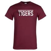 Maroon T Shirt-Morehouse Maroon Tigers
