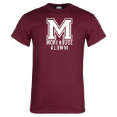Maroon T Shirt-Morehouse Alumni