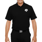 Under Armour Black Performance Polo-Mascot Logo
