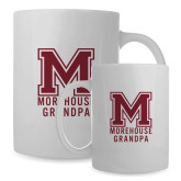 Full Color White Mug 15oz-Morehouse Grandpa
