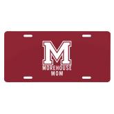 License Plate-Morehouse Mom