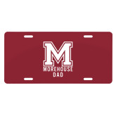 License Plate-Morehouse Dad