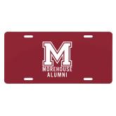 License Plate-Morehouse Alumni