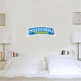 1 ft x 1 ft Fan WallSkinz-Arched Misericordia Cougars