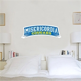 3 ft x 3 ft Fan WallSkinz-Arched Misericordia Cougars