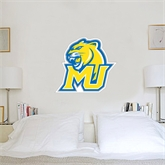 3 ft x 4 ft Fan WallSkinz-MU w/Cougar Head