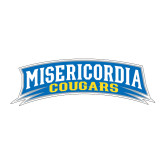 Medium Decal-Arched Misericordia Cougars