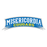 Large Decal-Arched Misericordia Cougars