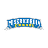 Small Decal-Arched Misericordia Cougars