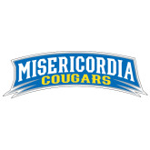 Extra Large Decal-Arched Misericordia Cougars