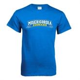 Royal T Shirt-Arched Misericordia Cougars
