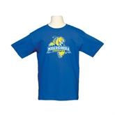 Youth Royal T Shirt-Misericordia Official Logo