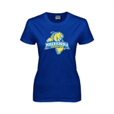 Ladies Royal T Shirt-Misericordia Official Logo