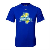 Under Armour Royal Tech Tee-Misericordia Official Logo