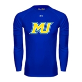 Under Armour Royal Long Sleeve Tech Tee-MU