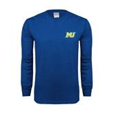 Royal Long Sleeve T Shirt-MU