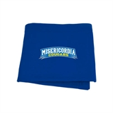Royal Sweatshirt Blanket-Arched Misericordia Cougars