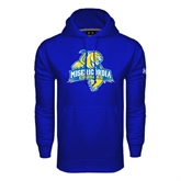 Under Armour Royal Performance Sweats Team Hoodie-Misericordia Official Logo