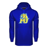 Under Armour Royal Performance Sweats Team Hoodie-MU w/Cougar Head