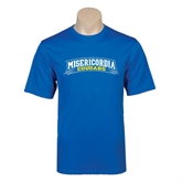 Performance Royal Tee-Arched Misericordia Cougars